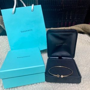 Authentic Tiffany & Co Loving Heart Bracelet